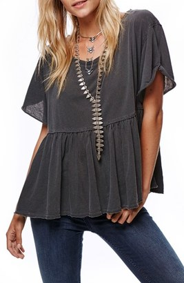Women's Free People Odyssey Tee $48 thestylecure.com