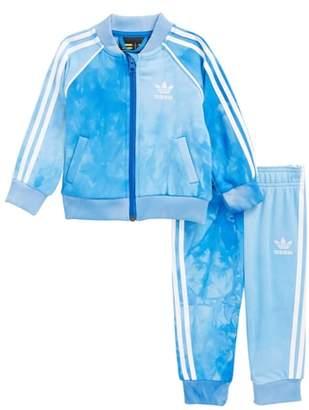 adidas Hu Holi Track Jacket & Sweatpants Set