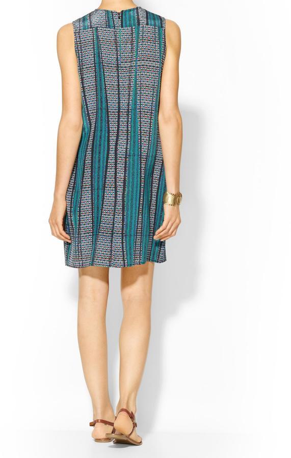 Tucker Sleeveless Button Dress