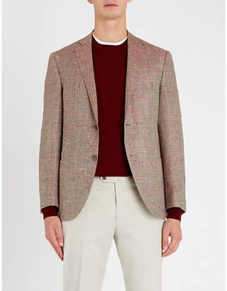 Corneliani Donegal regular-fit flax, wool and silk-blend blazer