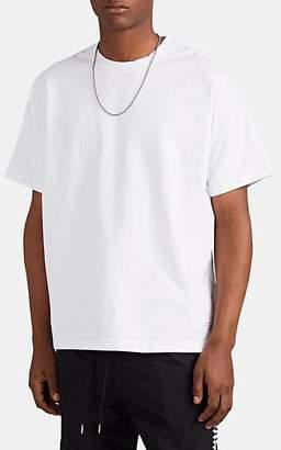"""Stampd Men's """"Service"""" Logo-Print Cotton T-Shirt - White"""