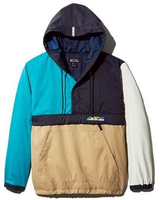 Manastash Flex Color-Block Hooded Pullover Anorak