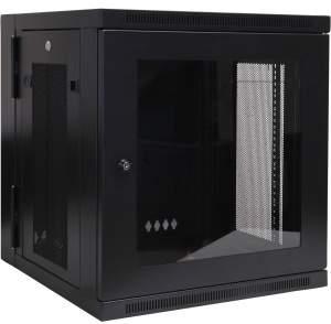 "Tripp Lite 12U Wall Mount Rack Enclosure Server Cabinet Hinged Swinging Acrylic Window - 19"" 12U Wall Mounted CABINET HINGED GLASS ACRYLIC DOOR"