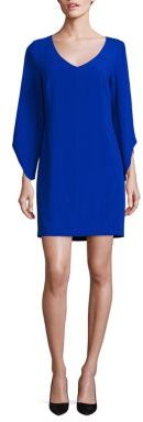 Laundry by Shelli Segal Crepe T-Body Tulip Sleeve Dress $168 thestylecure.com