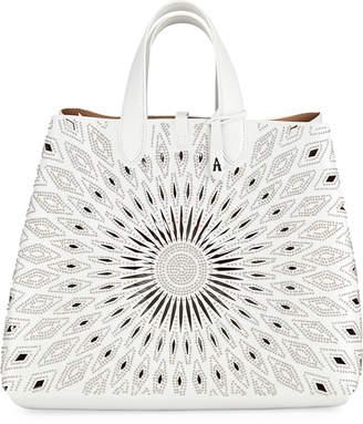 Alaia Friday Large Lux Ceramique Tote Bag