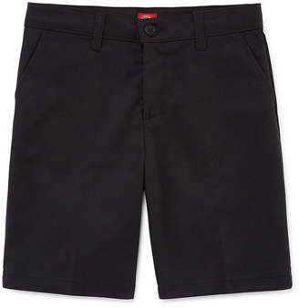 Dickies Slim-Fit Flat-Front Shorts - Girls 7-16