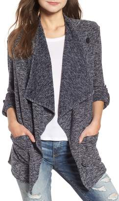 BB Dakota Kris Drape Front Knit Jacket