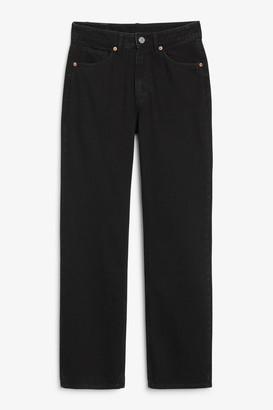 Monki Ikmo black jeans