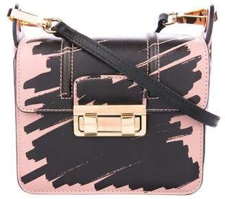 Lanvin Printed Leather Crossbody Bag