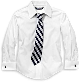 Brooks Brothers Boys' French Cuff Dress Shirt