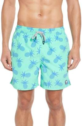 Trunks Tom & Teddy Pineapple Print Swim