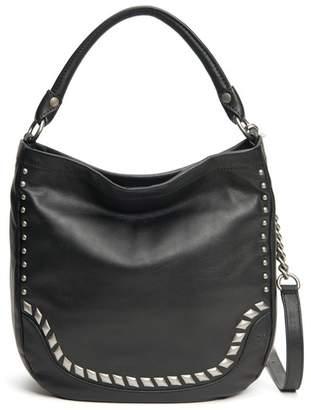 Frye Melissa Diamond Studded Leather Crossbody Bag