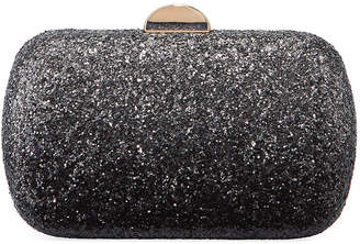 Neiman Marcus Oval Ombre-Glittered Chain-Strap Minaudiere Bag