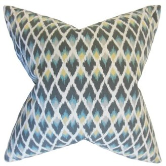 The Pillow Collection Paxton Ikat Bedding Sham The Pillow Collection