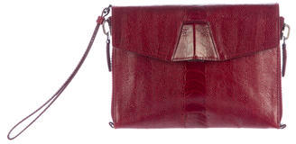 Alexander Wang Alexander Wang Embossed Leather Lydia Clutch