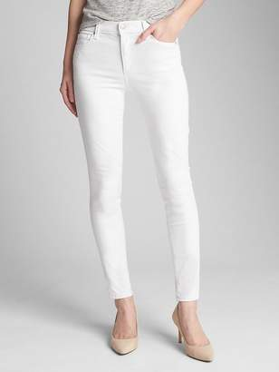 Gap Mid Rise EverWhite True Skinny Jeans in Sculpt