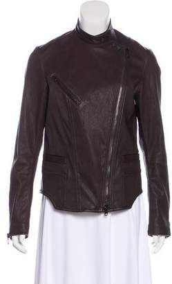3.1 Phillip Lim Leather Casual Jacket
