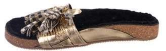 Figue Tassel Slide Sandals