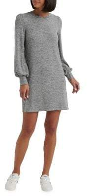 Lucky Brand Peasant-Sleeve Mini Shift Dress
