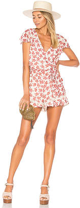 Tularosa Ashby Romper in Ivory $158 thestylecure.com