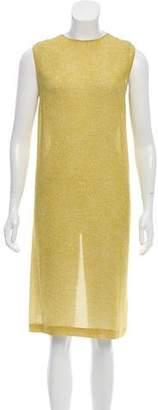Calvin Klein Collection Printed Midi Dress
