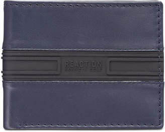 Kenneth Cole Reaction Men Colorblocked Leather Passcase Wallet