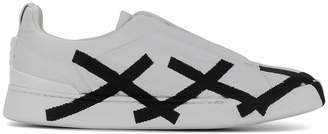 Ermenegildo Zegna cross-detail sneakers