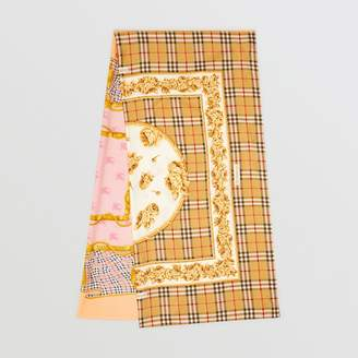 Burberry Archive Scarf Print Silk Scarf