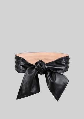 Giorgio Armani Nappa Leather Belt