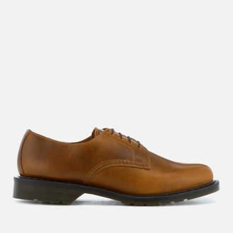 Dr. Martens Men's Oscar Octavius Leather Derby Shoes - Butterscotch