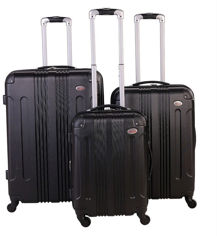 American Flyer Kova 3-Piece Hardside Spinner Luggage Set