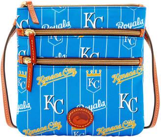 Dooney & Bourke MLB Royals Triple Zip Crossbody