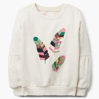 Gymboree Feather Sweatshirt