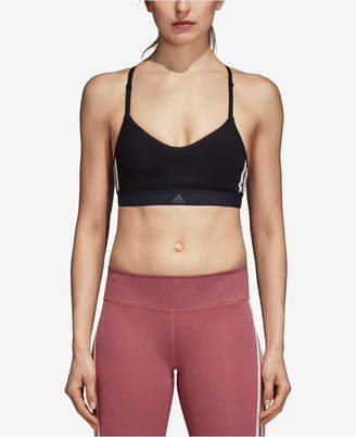 adidas Y-Back Compression Low-Impact Sports Bra