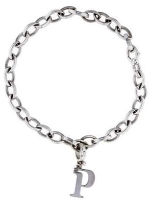Piaget Diamond P Charm Bracelet