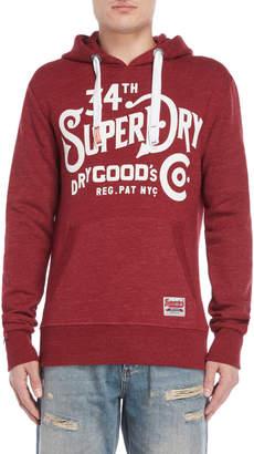 Superdry Red NYC Goods Hoodie