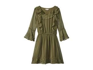 Ella Moss Bell Sleeve Dress (Big Kids)
