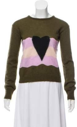 Giamba Wool-Blend Long Sleeve Sweater w/ Tags