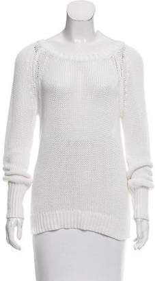 A.L.C. Open Knit Long Sleeve Sweater
