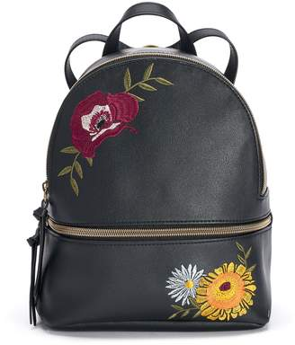 T-Shirt & Jeans T Shirt & Jeans Floral Applique Mini Backpack