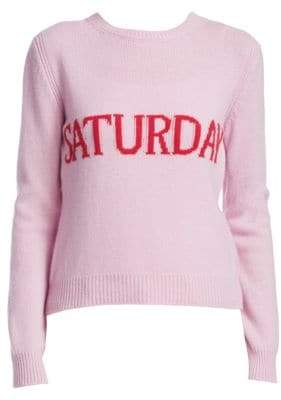 Alberta Ferretti Rainbow Week Capsule Days Of The Week Saturday Sweater