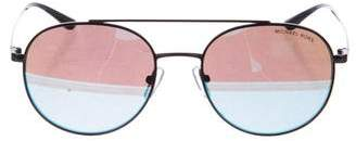 Michael Kors Holographic Aviator Sunglasses