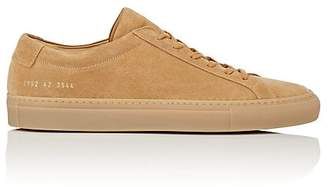 Common Projects Men's Achilles Suede Sneakers