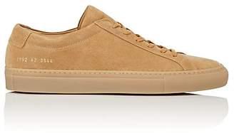 Common Projects Men's Achilles Suede Sneakers