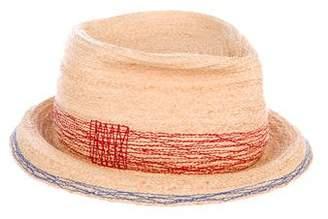 Lola Hats Straw Fedora Hat