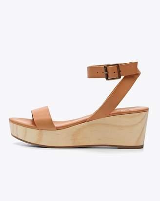 Nisolo Sarita Wedge Sandal TAN FINAL SALE