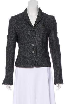 Rene Lezard Tweed Wool Blazer