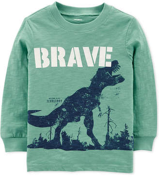 Carter's Baby Boys Brave Graphic Cotton Shirt
