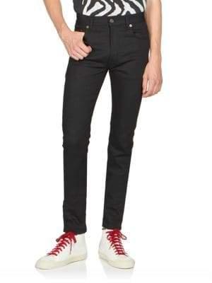 Saint Laurent Skinny Stretch-Cotton Jeans