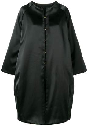 Gianluca Capannolo oversized single-breasted coat